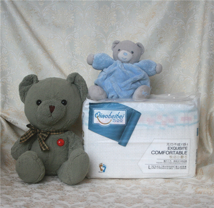 Breathable Paper Diaper